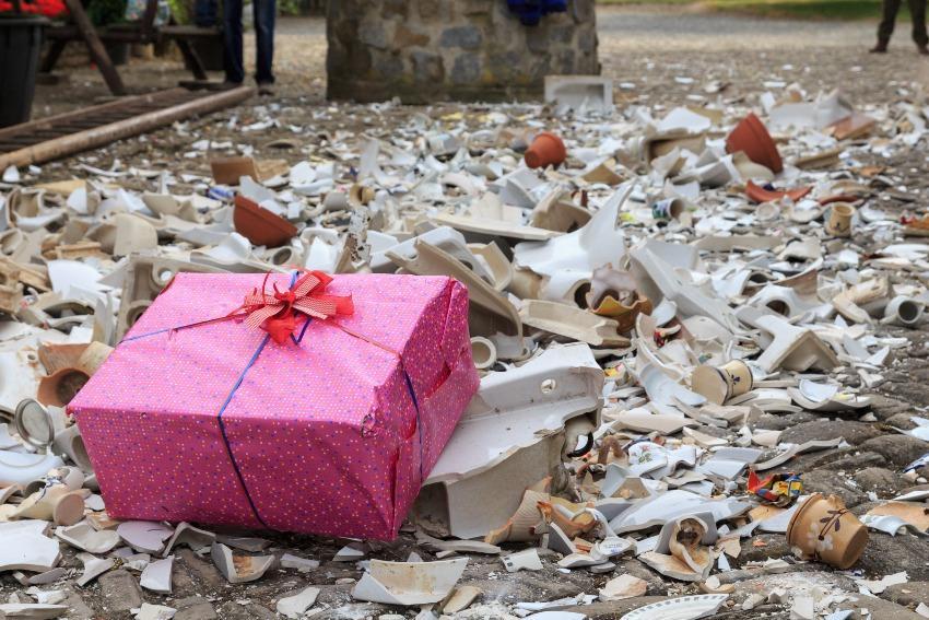 Geschenke und Scherben