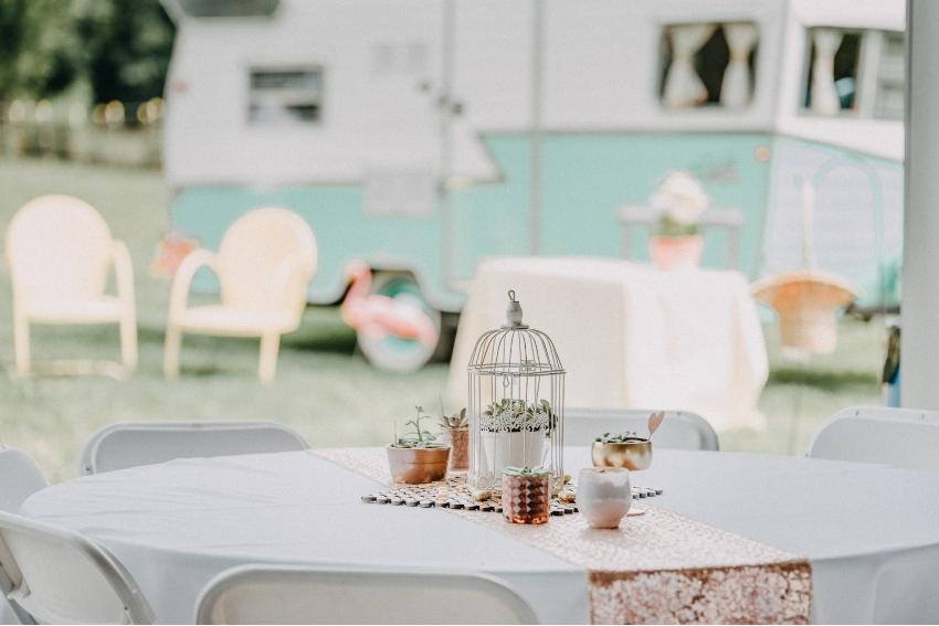Ein Foodtruck auf der Hochzeit