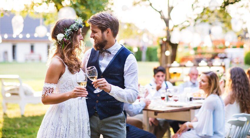 Hochzeit im kleinen Kreis