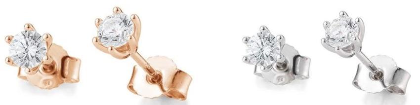 Diamantohrringe