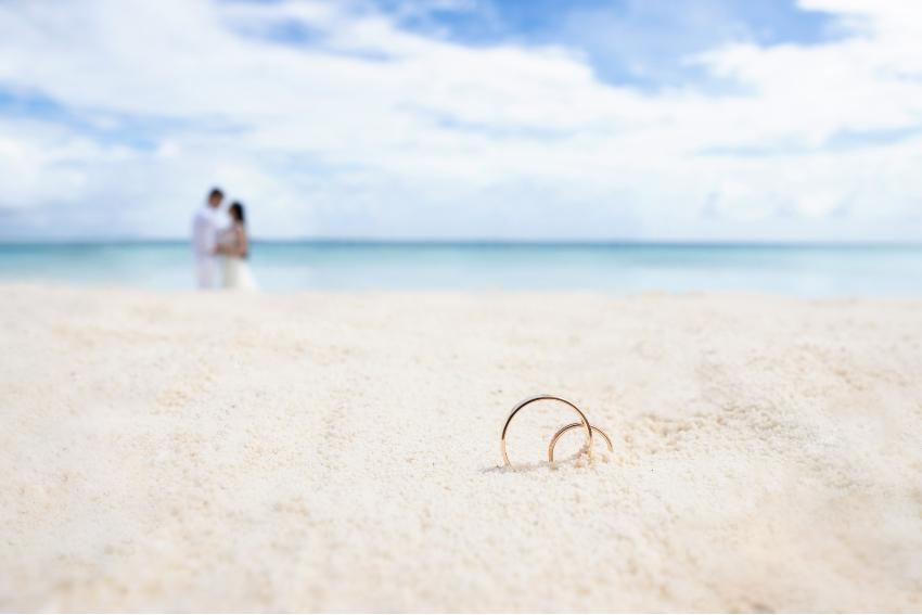 Ringe im Sand