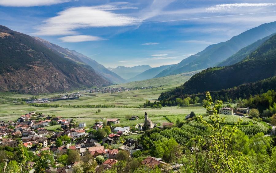 Latscher Tal im Vinschgau