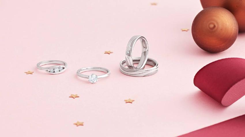 Trilogie-Ringe als Verlobungsringe