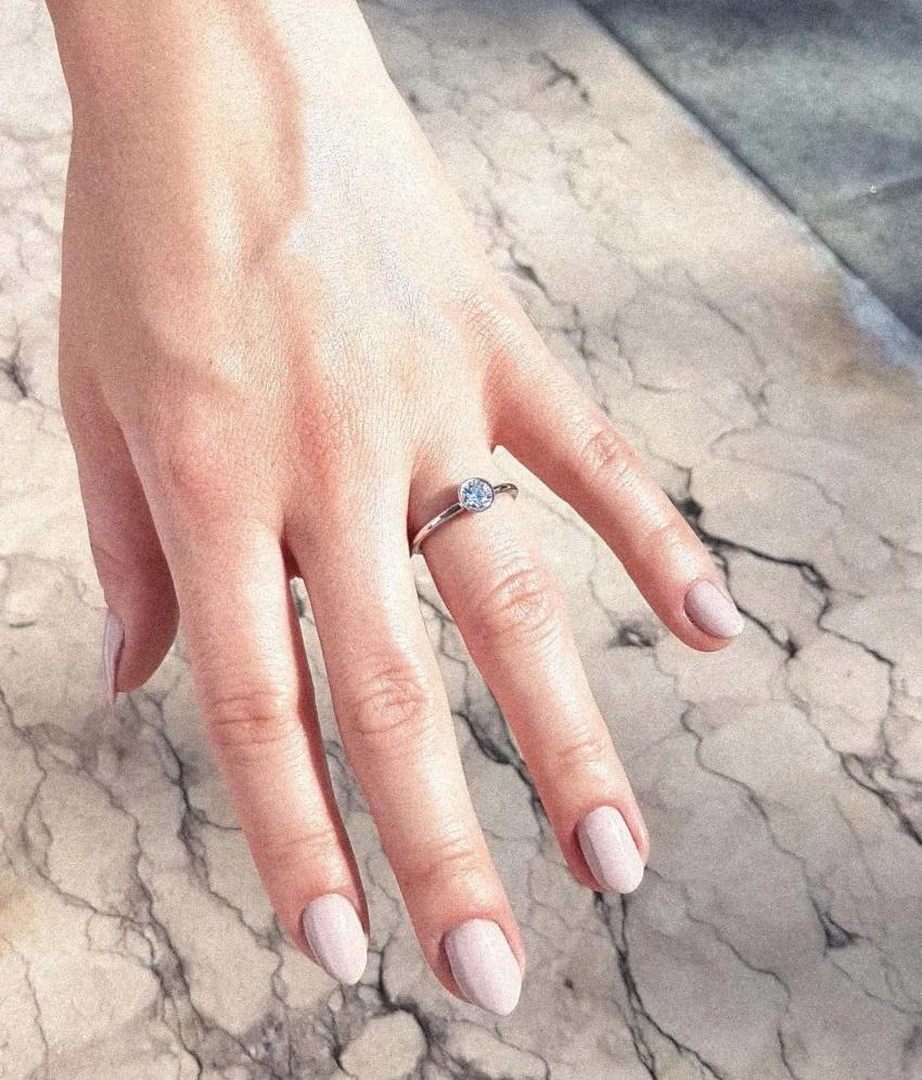 Engagé 0,50 ct. Verlobungsring aus Weißgold mit Diamant (0,50 ct.)
