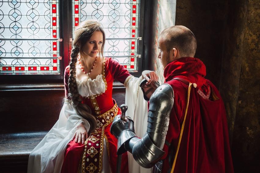 Mittelalterlicher Heiratsantrag