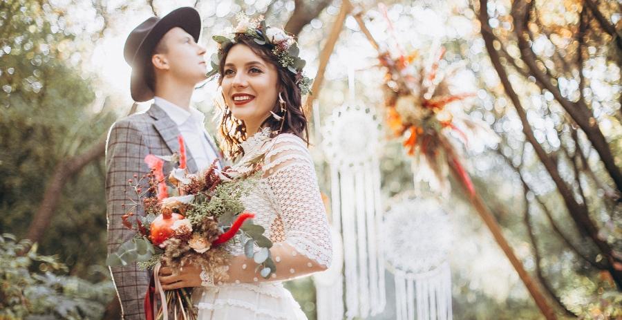 Bohemian-Hochzeit