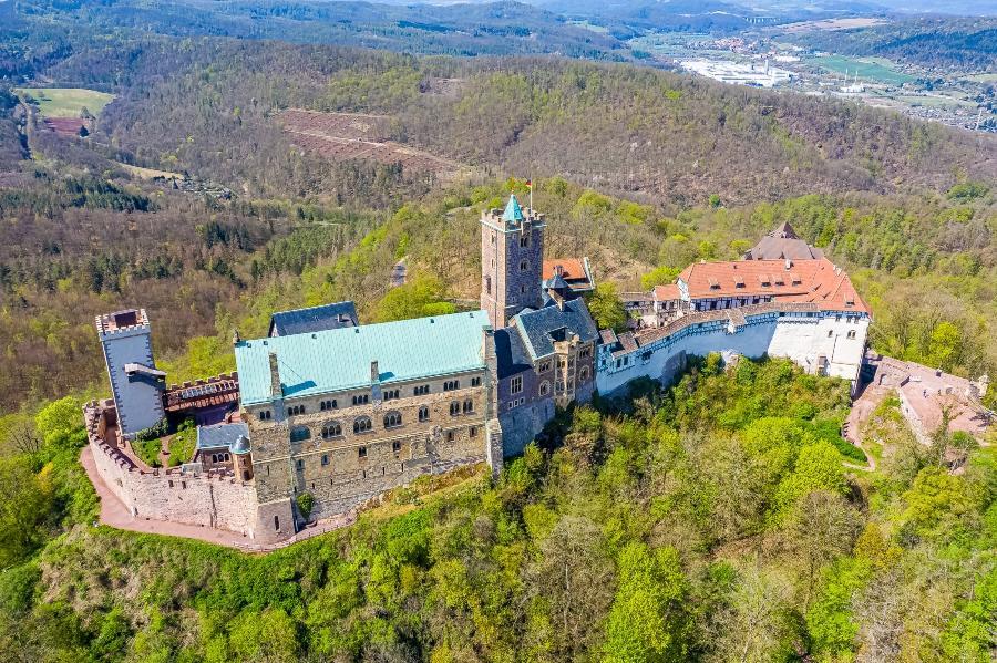 Die wundrrschöne Wartburg in Thüringen