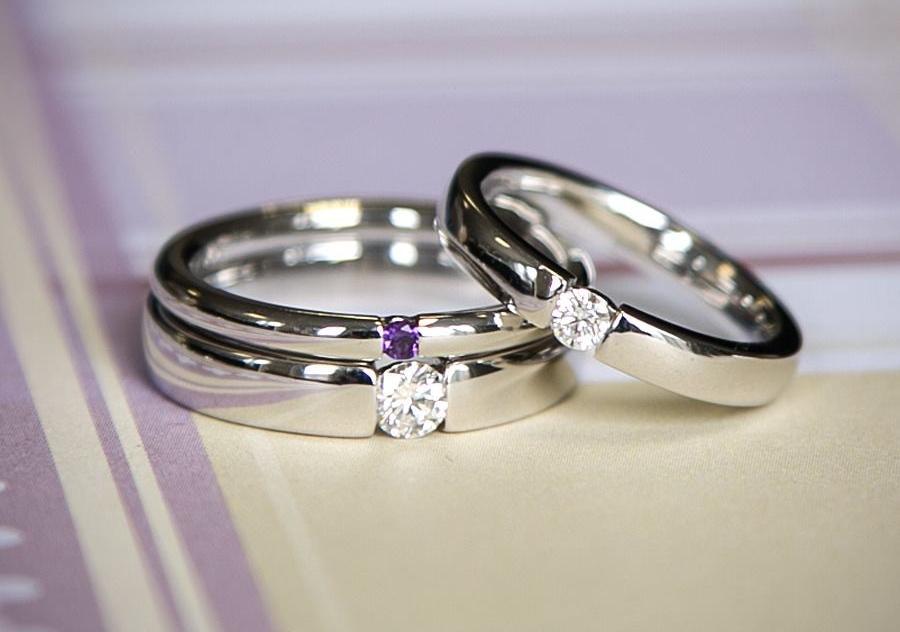 Isobel 0,1 ct. Verlobungsring aus Weißgold mit Diamant