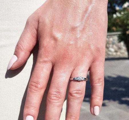 Shannon 0,5 ct. | Verlobungsring aus Platin mit Diamant (Gesamt 0,5 ct.)