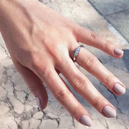 Shannon 0,45 ct. Verlobungsring aus Gelbgold mit Diamant