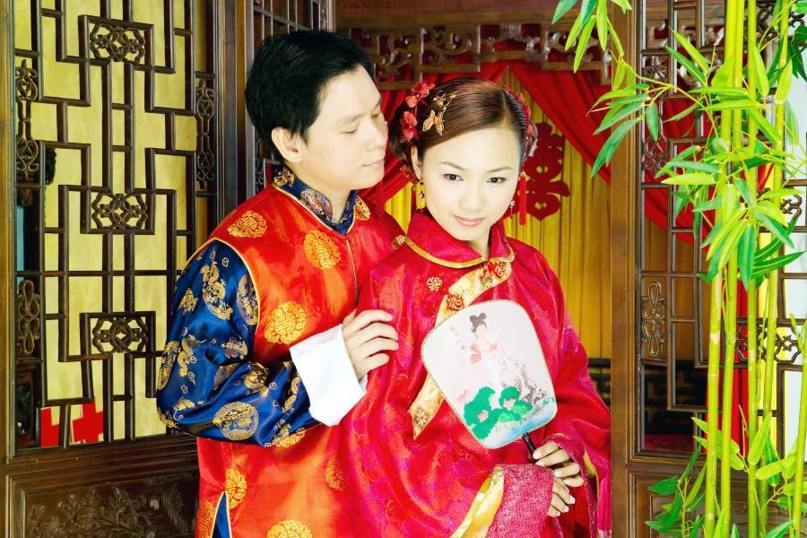 Chinesisches Brautpaar