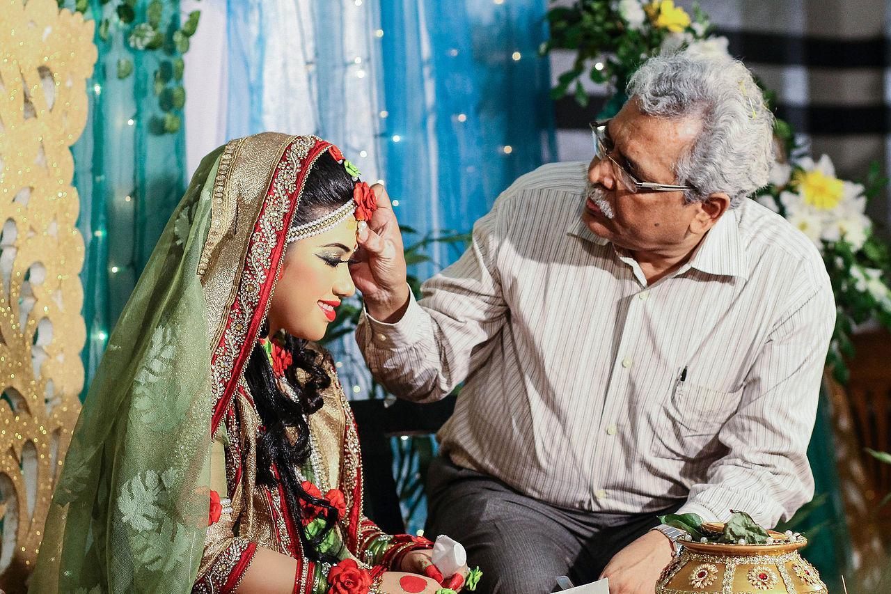 Gaye Holud, bengalische Tradition