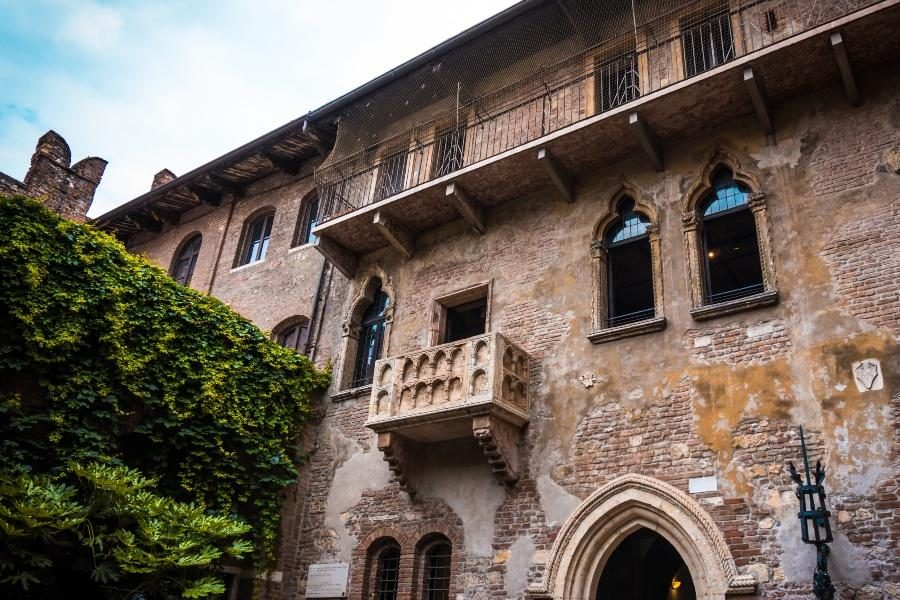 Romeo und Julia Balkon in Verona